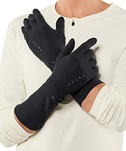 FALKE Unisex, Handschuhe Light Funktionsfaser, 1 er Pack, Schwarz (Black 3000), Größe: L