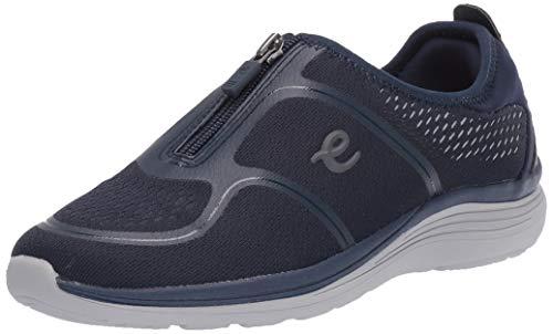 Easy Spirit Women's Glossy2-Hs Sneaker, Blue 400, 7.5