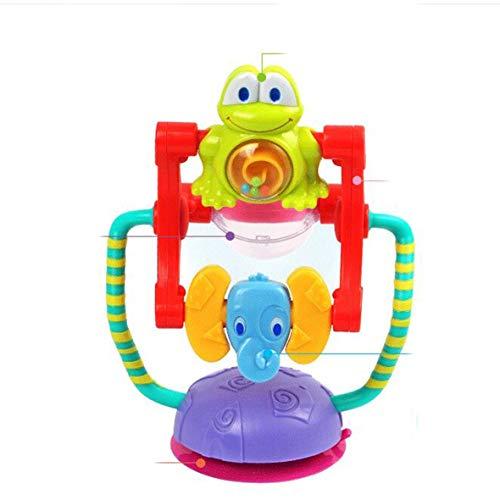 Heaviesk Rueda de la Fortuna giratoria para bebés Trolley para bebés Juguetes para bebés 0-12 Meses Brinquedos para Bebe Sonajeros de Rueda Bebek Oyuncak