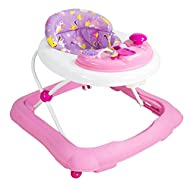 Suitable from six months Musical electronic car themed activity tray, detachable for play time away Three height adjustable frame to grow with baby which folds down compactly for storage Extra deep padded seat for full back support Stop 'n' go base f...