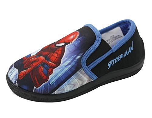 Spiderman Marvel Comics Jungen Hausschuhe EU 28
