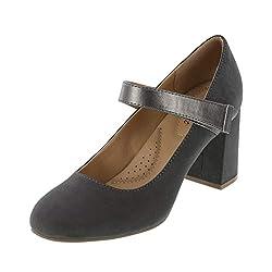 professional Dexflex Comfort Grace Suede Female Carol Mary Jane Heel 9.5 Standard