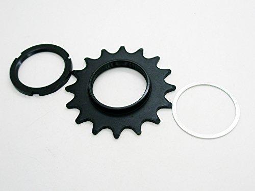 Piñon FIJO Z18 Bicicleta FIXIE 16 dientes + Contratuerca Lockring Apriete 3849