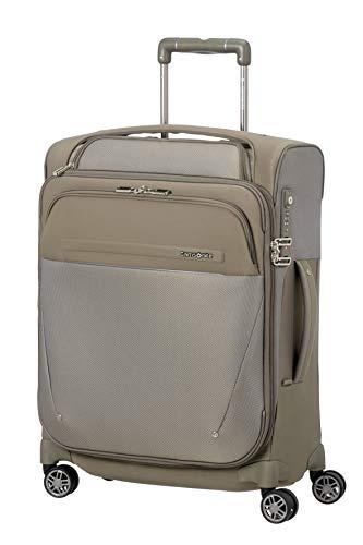SAMSONITE B-Lite Icon - Spin.55/20 Exp Toppocket Koffer, 55 cm, 44 Liter, Dark Sand