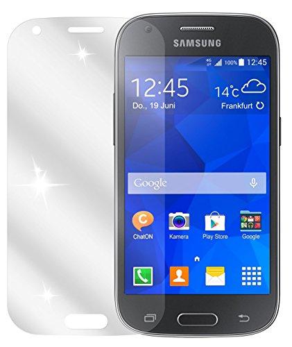dipos I 2X Schutzfolie klar kompatibel mit Samsung Galaxy Ace 4 Folie Bildschirmschutzfolie