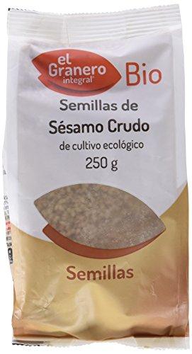 El Granero Integral Sesamo Crudo Bio, 250 g