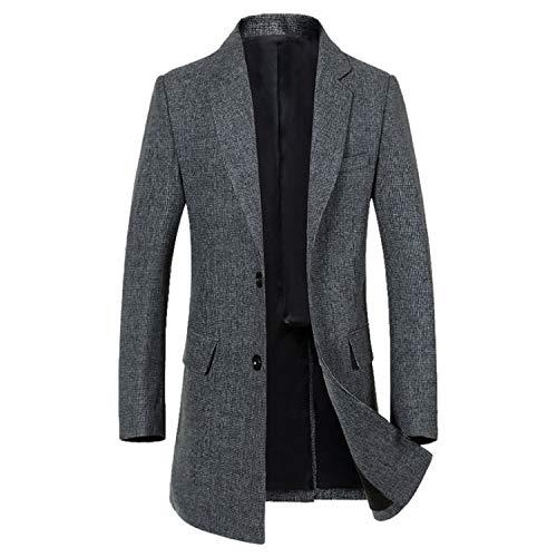 Goods-Store-uk Zakelijke pak Jas Man Nieuw Merk Heren Blazer Jas Herfst Wollen Slim Fit Blazers