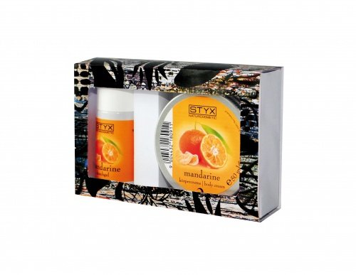Styx, Kennenlernset Mandarine - Duschgel, Körpercreme
