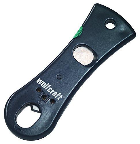 Wolfcraft 4363000 1 KM 100-Kartuschenmesser, grün