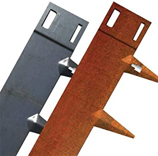 Core Edge Flexible Steel Lawn Edging CorTen 4