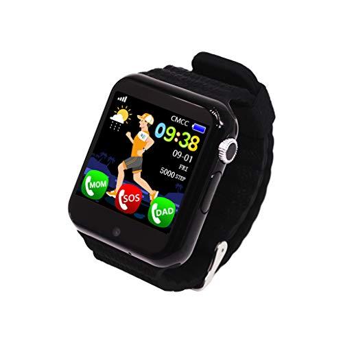 Posizione smartwatch stand-alone card call 1.54 inch touch screen impermeabile Nero.
