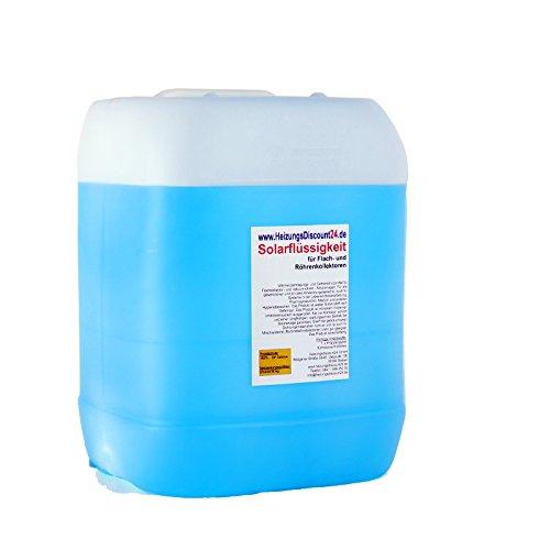 20 Liter Solarflüssigkeit bis -28°C Frostschutz, Solarfluid, Solarliquid, Wärmeträgermedium