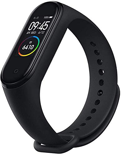 Mi Band 5 Smart Band, Smart Watch con Activity Tracker 1.1'Display AMOLED a Colori Bluetooth 5.0 Cardiofrequenzimetro Bracciale Intelligente Impermeabile