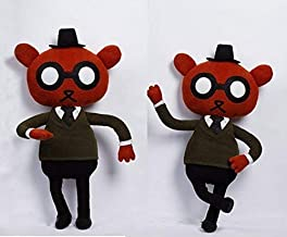 Angus Delaney plush - Night in the Woods inspired - handmade doll, 22 in high
