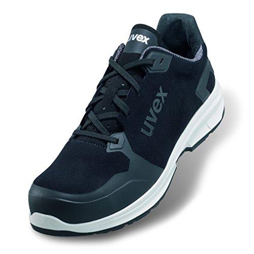 1 Sport - Chaussures de Travail pour Hommes S3 SRC ESD - Baskets Légères de Sécurité avec Embout - Velours - Noir