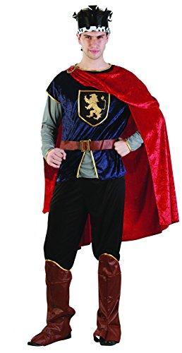 Rire Et Confetti - Fiamou008 - Déguisement pour Adulte - Costume Prince Médiéval Homme - Taille M