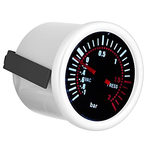 Turbo Boost Gauge, Turbo Boost Gauge Coche Universal Turbo Boost Gauge 2'Coche Universal 12V LED Digital Turbo Boost PSI Gauge Meter