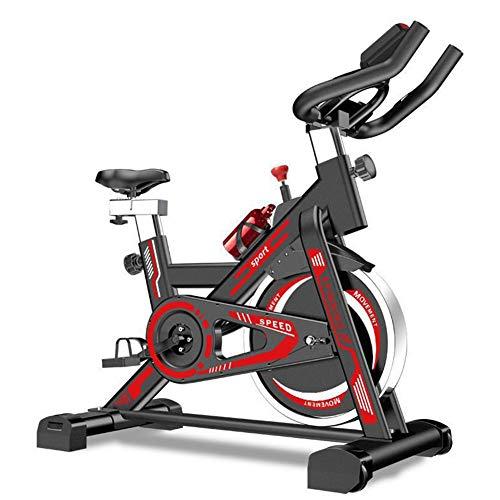 FEIFEI Bicicleta Estática Giratoria Deportiva, Utilizada Para Investigación, Cardiovascular, Bicicleta, Hogar, Gimnasio, Bicicleta Estática Neutra Con Sensor De Pulso De Mano, Plegable