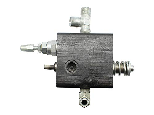SECURA Hydraulisches Steuergerät Steuerventil kompatibel mit CMI C-HSP-8/3000 Holzspalter