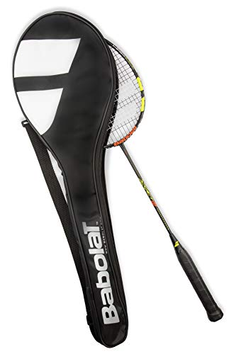 Babolat X-Act 85R Limited Edition - Raqueta de bádminton, color negro, amarillo y rojo