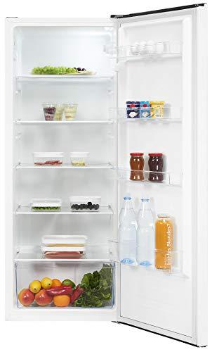 Exquisit Kühlschrank KS320-V-010E weiss | Standgerät | 242 l Volumen | Weiß