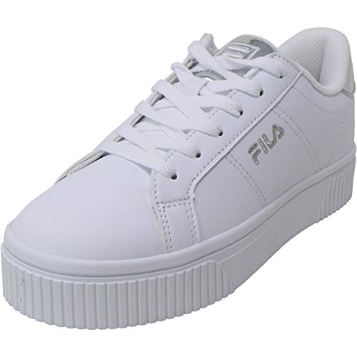 Fila Women's Panache 19 Ankle-High Leather Sneaker