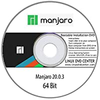 Manjaro Linux 20.0 Live GNome (64Bit) - Bootable Linux Installation DVD