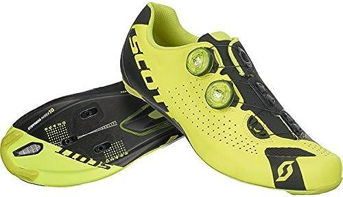 Scott Road RC schuhe - Men& 039;s Neon Gelb schwarz, 44.0