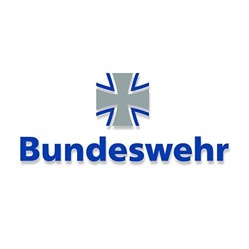Bundeswehr Aufkleber Wappen Schriftzug BW Kreuz Tür Ticker Bund 60x25cm#A3719