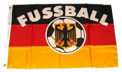 Fahne / Flagge Deutschland Fußball NEU 90 x 150 cm