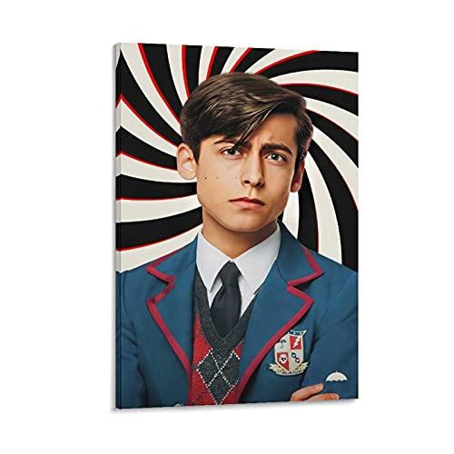 JNFB Aidan Gallagher Umbrella Academy Poster pintura decorativa lienzo pared sala de estar póster dormitorio pintura 20 x 30 cm