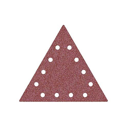 MioTools Fox Klett-Schleifscheiben, 290 x 250 mm, 12-Loch, Korn 100, f. Trockenbauschleifer, Normalkorund (25 Stk.)