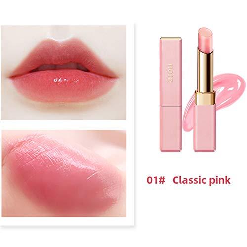 Lucoss Feuchtigkeitsspendende Balsam Lipgloss Feuchtigkeitscreme Nahrhafter Lippenstift Balsam Wasserdicht Make-up Lippen Werkzeuge