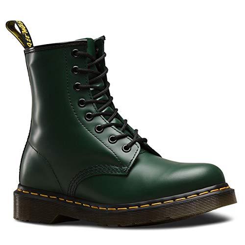 Dr. Martens Unisex-Erwachsene 1460 Combat Boots, Grün (Green), 45 EU