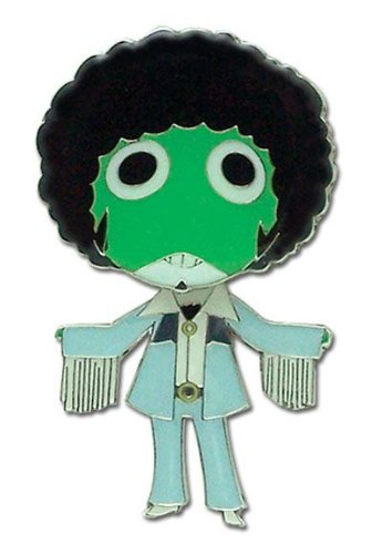 Sgt. Frog Disco Afro Frog (Single) Pins