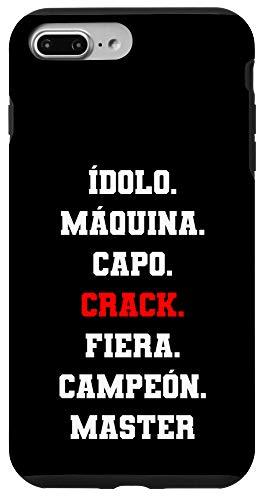 iPhone 7 Plus/8 Plus Idolo Maquina Capo CRACK Fiera Campeon Master Diseño Chingon Case