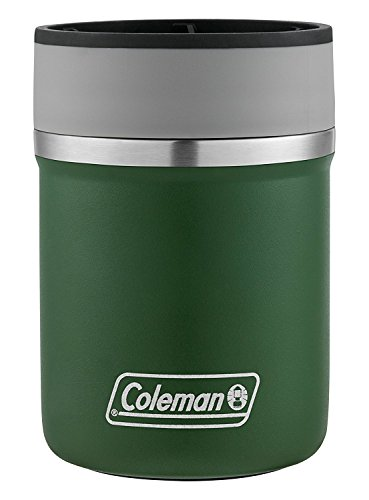 Coleman Lounger Stainless Steel Can Insulator, Heritage Green,, 10 oz