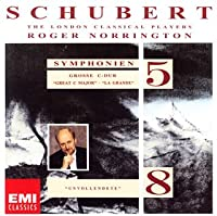 シューベルト:交響曲第5番&第8番