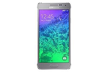 Samsung Galaxy Alpha G850F 32GB Unlocked GSM Quad-Core Octa-Core 4G LTE Smartphone - Silver