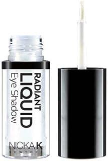 (3 Pack) NICKA K Radiant Liquid Eye Shadow - Starlette Glitter (並行輸入品)