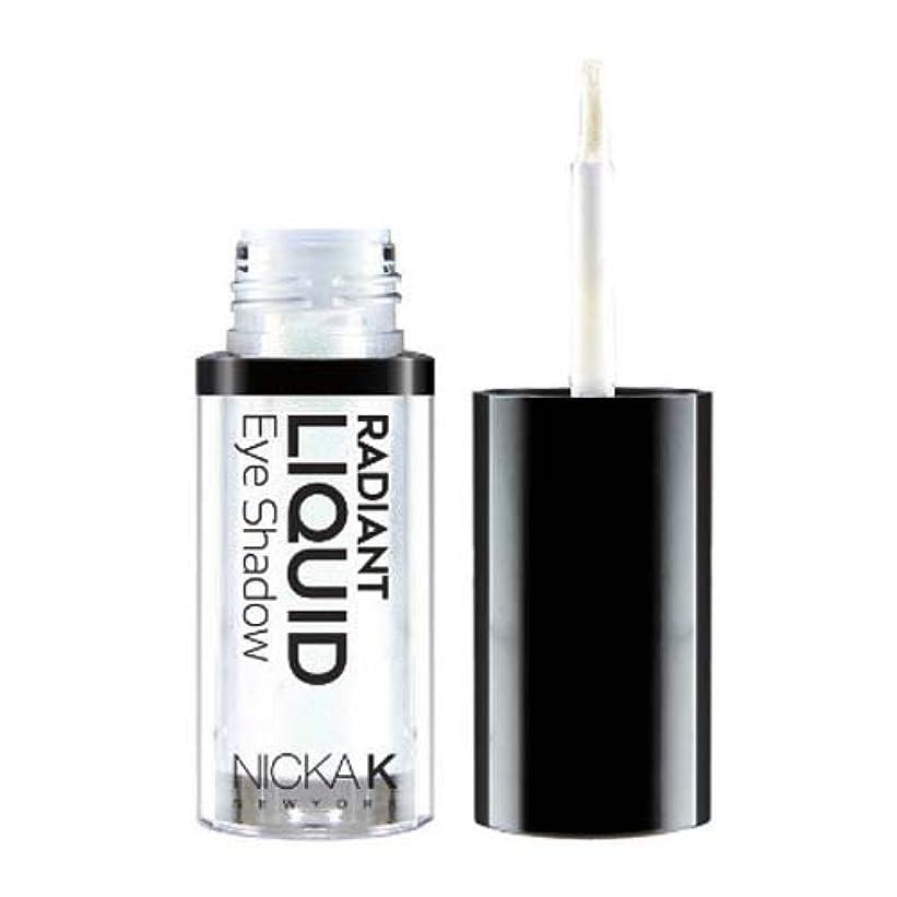 移動する一過性堂々たる(6 Pack) NICKA K Radiant Liquid Eye Shadow - Starlette Glitter (並行輸入品)