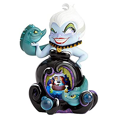 Enesco The World of Miss Mindy The Little Mermaid Deluxe Ursula Figurine, 9.84 Inch, Multicolor