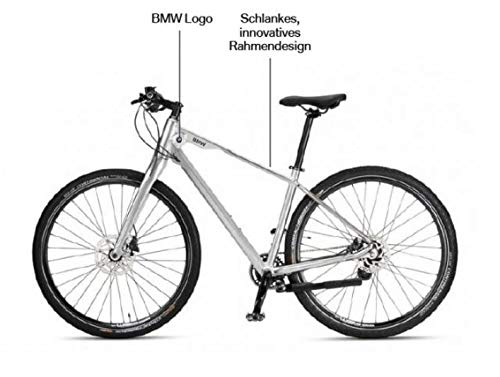 BMW Original Cruise Bike/Fahrrad in Glossy Silver - Silber glänzend 2019-2021 - Größe M