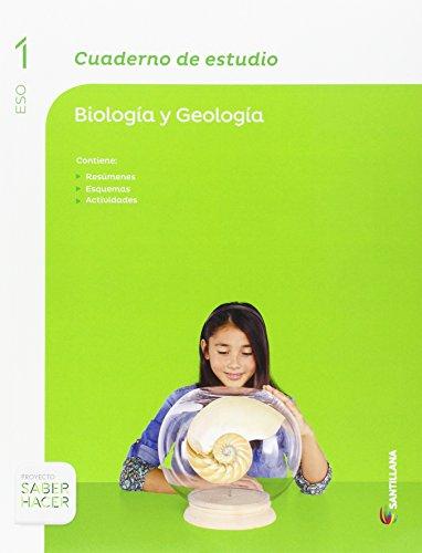 CUADERNO DE ESTUDIO BIOLOGIA Y GEOLOGIA 1 ESO SABER HACER - 9788468087214