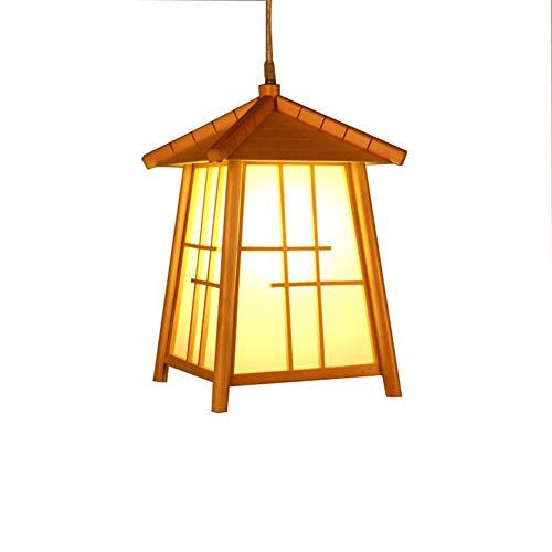 Hai Ying massieve houten spin, Japanse stijl, barstang, café, restaurant huis, theelicht LED E27