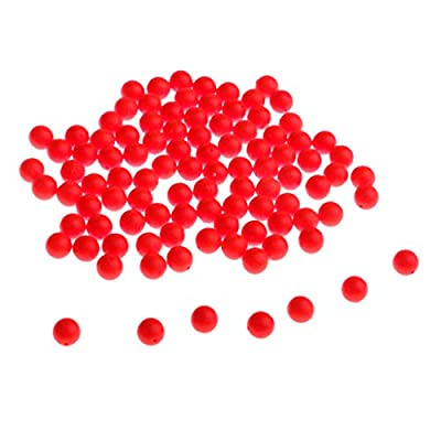 Baosity 100pcs Strike Indicators Game Fly Fishing Tackle Trout Salmon Floats Bobbers