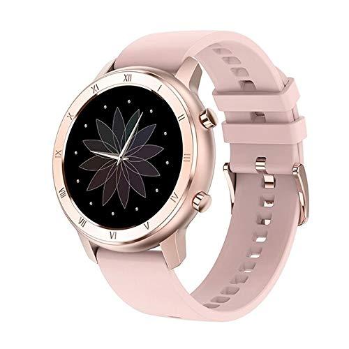 Relógio Ecg Inteligente Unissex Smartwatch À Prova D' Água MELANDA Pulseira Silicone Pressão Arterial Taxa Múltipla Esporte (Rosa)