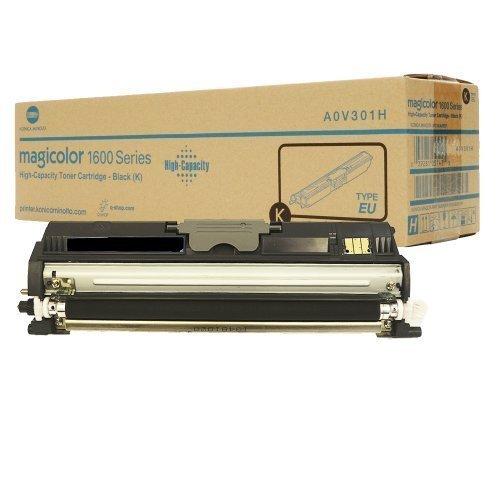Original Toner Konica Minolta A0V301H Konica Minolta Magicolor 1600W 1650EN 1680MF 1690MF Schwarz (ca. 2.500 Seiten) Black