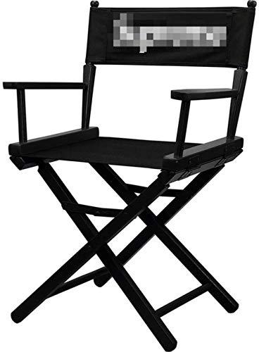 JCXOZ Sillas plegables plegables director Silla |Oxford tela del asiento |Portable de la silla de madera sólida móvil, for los artistas y directores de cine Estudio Maquillaje Y actividades al aire li