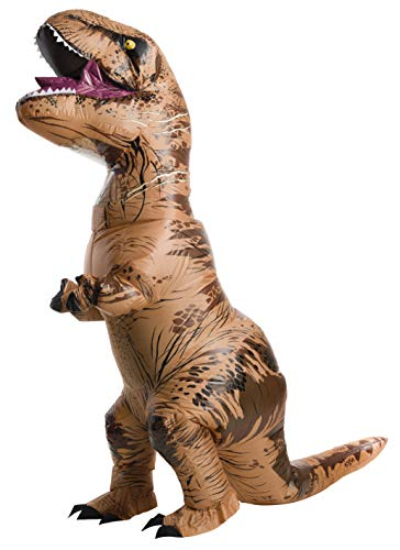 Rubie's Official Jurassic World Inflatable Dinosaur Costume, T-Rex-Plus
